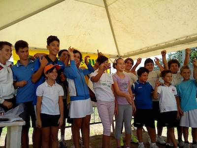 Tennis, successo del torneo regionale Uisp all'insegna del gioco e del divertimento