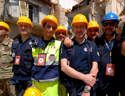 I volontari umbri della Protezione Civile alla prova del terremoto Abruzzese: una risorsa umana e professionale di grandissimo valore