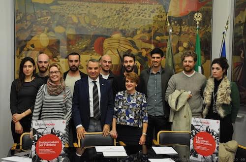 """Presentato """"Umbria Movie"""" video contest, nove videomaker raccontano la regione verde"""