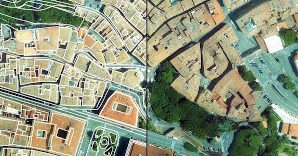 """""""Umbria dall'alto"""", a disposizione gratuitamente 60.000 foto e cartografie regionali"""