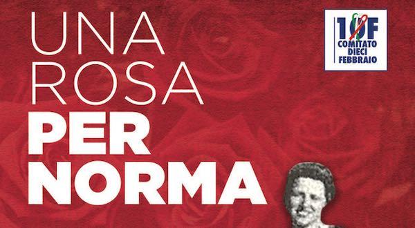 """""""Una rosa per Norma Cossetto"""", 120 città ricordano la studentessa istriana"""