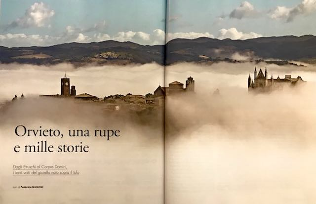 """""""Luoghi dell'Infinito"""" ed """"F"""" per raccontare """"Orvieto, una Rupe e mille storie"""""""