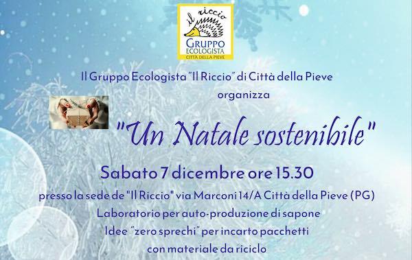 """""""Un Natale sostenibile"""" nella sede de """"Il Riccio"""""""