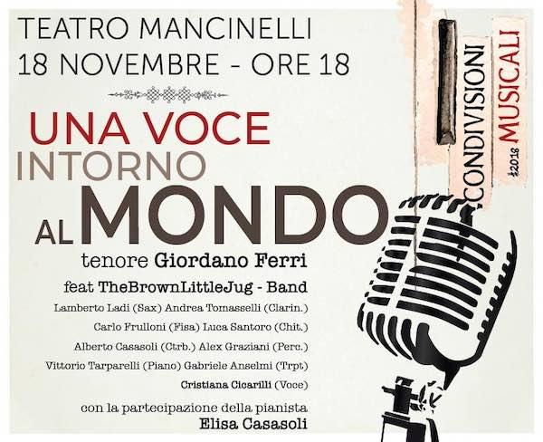 """""""Una voce intorno al mondo"""". Al Mancinelli, melodie e canti della tradizione"""