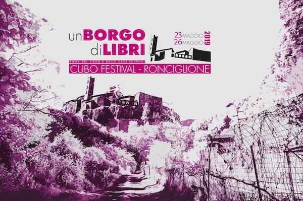 """""""Cubo Festival. Un Borgo di Libri"""". Terza edizione per la Fiera del Libro e dell'Editoria"""