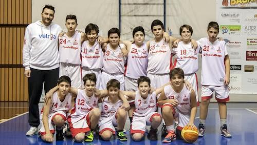Orvieto Basket. Nulla da fare per l'Under 13 con Spoleto