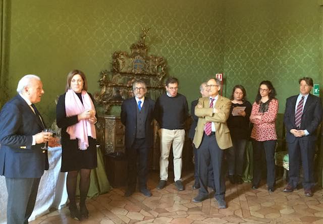 Inaugurato l'anno accademico dell'Università di Perugia. Marini riceve rettore e senato