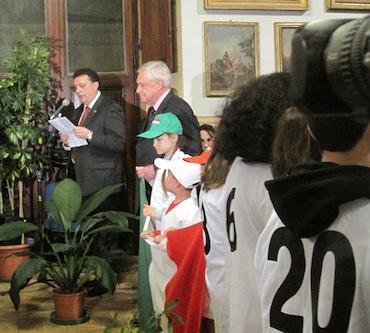 Orvieto celebra il 150° anniversario dell'Unità d'Italia. Doni simbolici e l'ntitolazione di una nuova sala