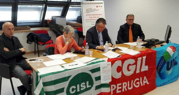 Attivo unitario di Cgil, Cisl e Uil. Le proposte del sindacato per la legge di bilancio 2019