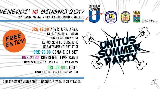 L'anno accademico si chiude con l'Unitus Summer Party