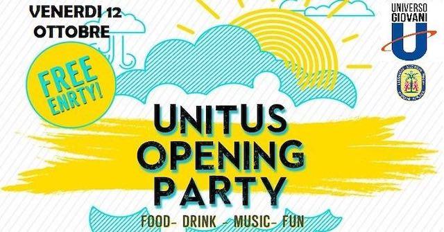 Unitus, Opening Party al Complesso di Santa Maria in Gradi