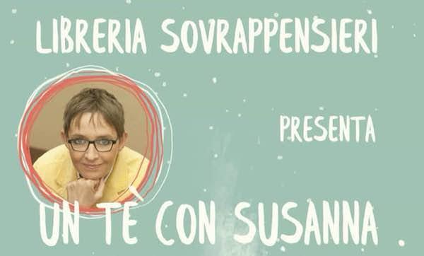 Un tè con Susanna Tamaro alla Libreria Sovrappensieri