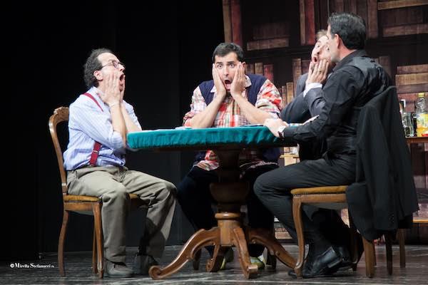 """""""Uomini sull'orlo di una crisi di nervi"""" al Teatro Spazio Fabbrica"""