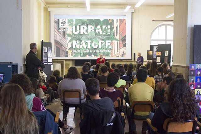 """Il Liceo Artistico tra i venti finalisti di """"Urban Nature"""" - WWF Italia"""