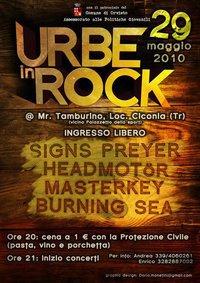 """Sabato 29 maggio, """"Urbe in Rock"""" al Mr. Tamburino"""