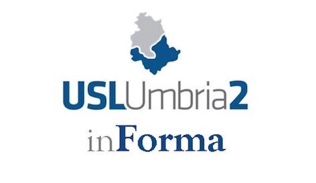 """Nuovo numero di """"Usl Umbria 2 inForma"""", il periodico di informazione dell'Azienda Sanitaria"""