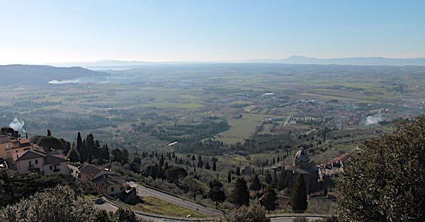 Paesaggio della bonifica in Valdichiana, dossier al Ministero