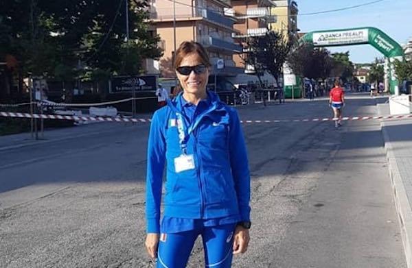 Valeria Pedetti vince l'oro ai Campionati Europei Master di Atletica Leggera