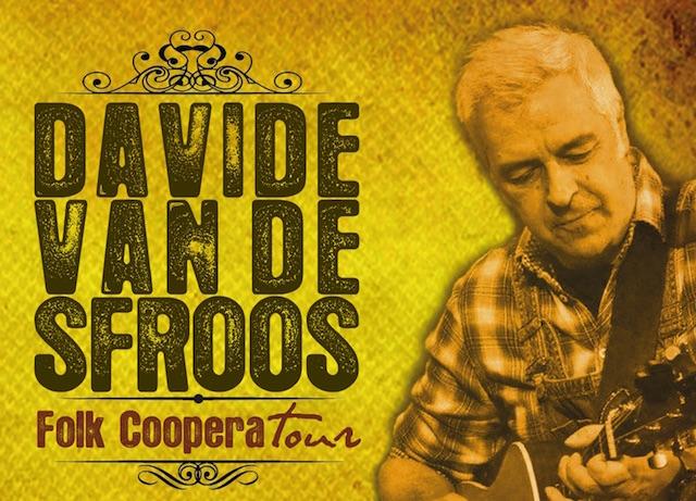 A Umbria Folk Festival è la notte di Davide Van De Sfroos