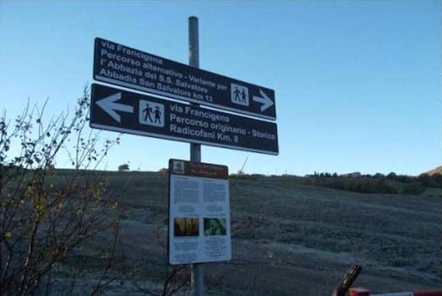 Camminando lungo la Variante della Via Francigena, con il gruppo PassoDopoPasso
