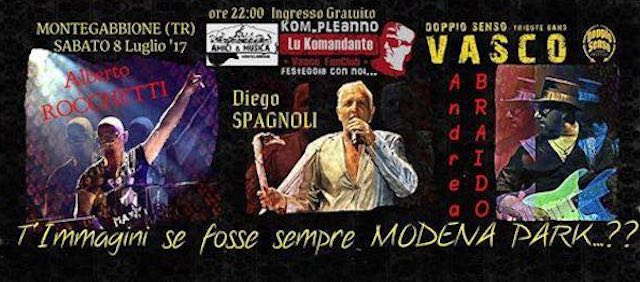 """T'immagini se fosse sempre Modena Park...?"". Terzo kom-pleanno per ""Lu Komandante Vasco FanClub"""