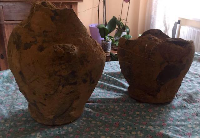 Nuovi ritrovamenti di reperti archeologici. Vent'anni dopo, spuntano due vasi antichi
