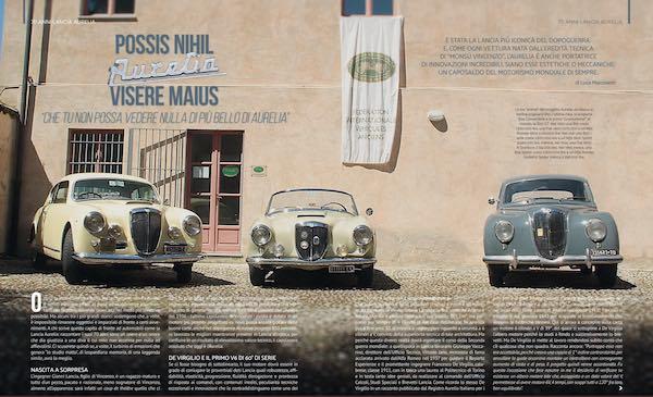 Giornata Nazionale del Veicolo d'Epoca, la Lancia Aurelia compie 70 anni