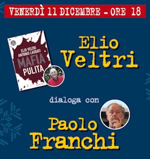 """Al Libro Parlante, Elio Veltri discute di """"Mafia pulita"""". E un altro """"orvietano"""" torna a casa..."""