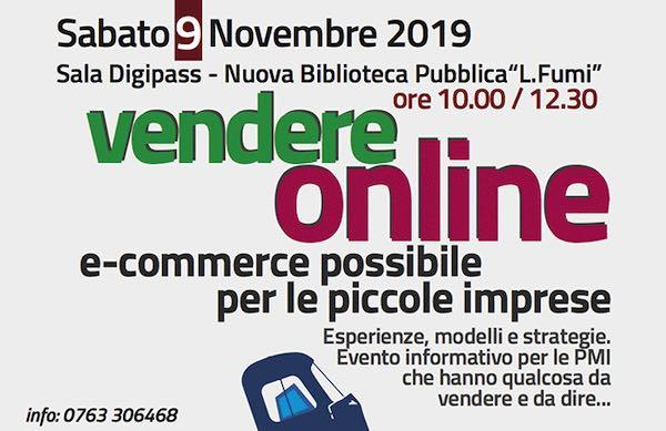 """""""Vendere online. E-commerce possibile per le piccole imprese"""""""