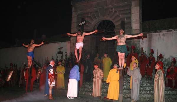 Rievocazione storica della Passione di Cristo a Bagnaia