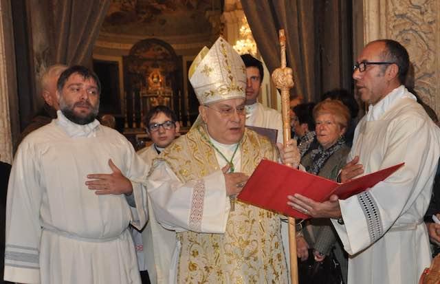 Visita pastorale del vescovo Giuseppe Piemontese per il Ponte dell'Immacolata