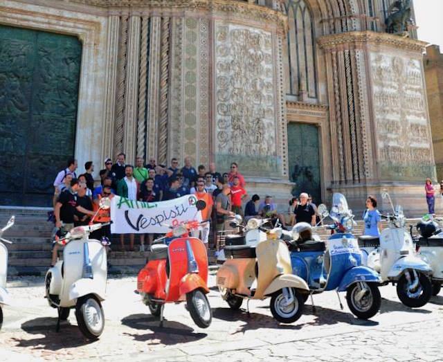 Arriva il primo raduno nazionale per il Vespa Club Orvieto