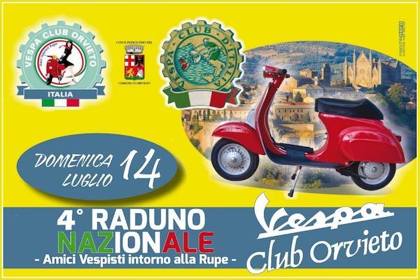 """Domenica su due ruote con il 4° Raduno del """"Vespa Club Orvieto"""""""