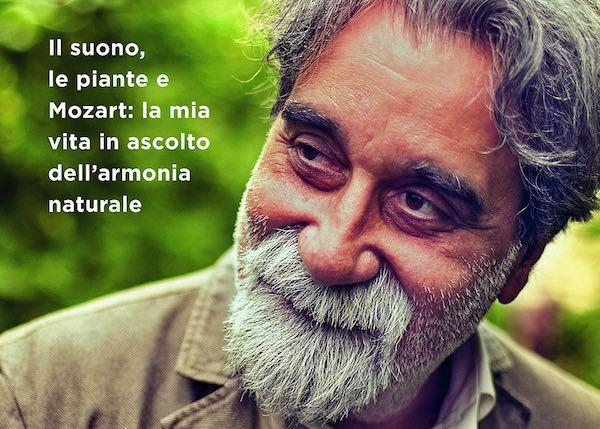 """Peppe Vessicchio presenta """"La musica fa crescere i pomodori"""" all'Isola del Libro"""