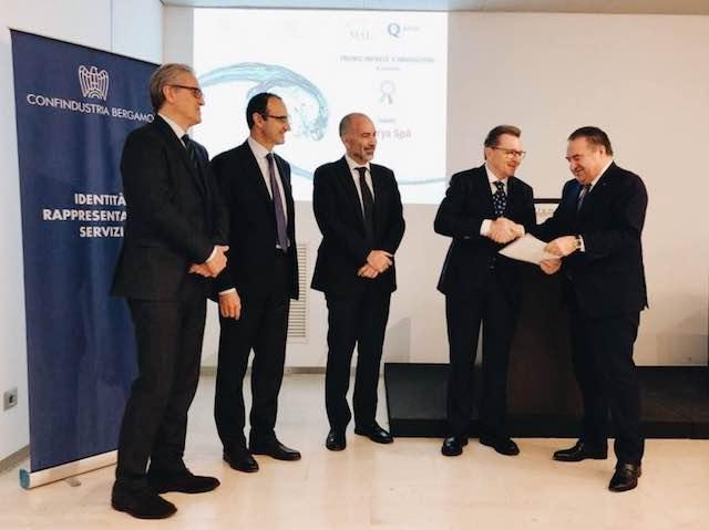 Vetrya riceve il Premio IxI: Imprese per Innovazione di Confindustria