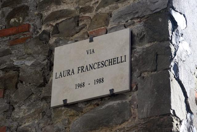 Intitolata la via dedicata a Laura Franceschelli, uccisa a vent'anni