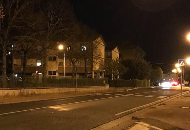 Ciconia, un quartiere (quasi) al buio