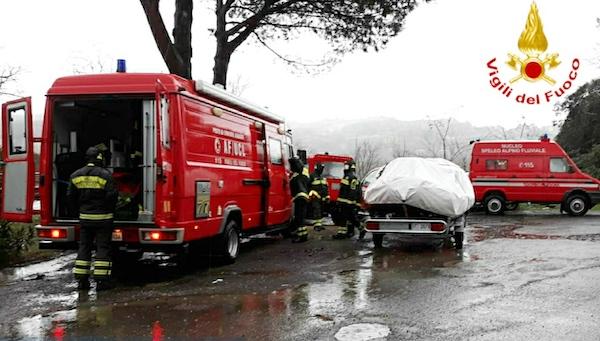 Sessantenne giù dal ponte, corpo ritrovato ad Alviano