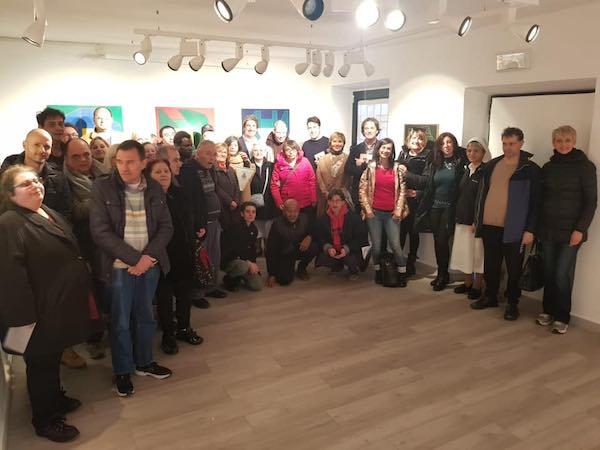 Villa Rosa alla mostra di Perilli. Casa Civita come luogo di incontro e inclusione