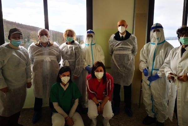 Terminata la campagna di vaccinazione a Villa Serena