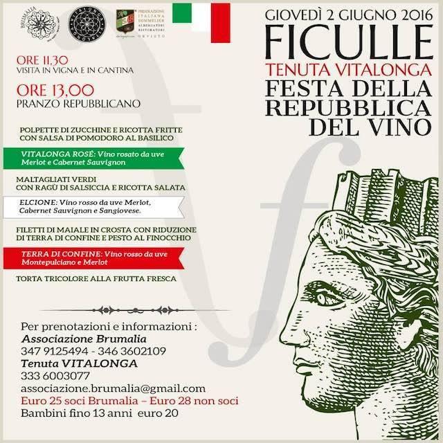Festa della Repubblica del Vino alla Tenuta Vitalonga
