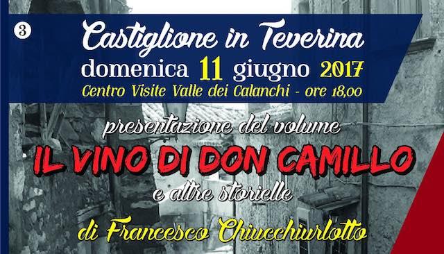 """Francesco Chiucchiurlotto presenta """"Il vino di don Camillo e altre storielle"""""""