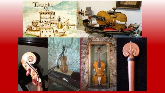 I violini barocchi vanno in mostra all'Antiquarium di Tenaglie