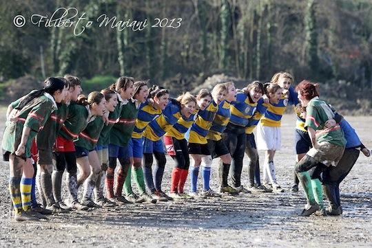 Il rugby femminile di Orvieto alle finali nazionali di Parma