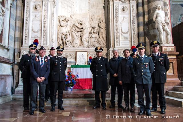 "Celebrata in Duomo la ""Virgo Fidelis"", patrona dell'Arma dei Carabinieri"