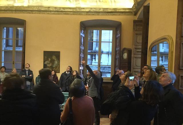 In 150 per l'apertura straordinaria di Palazzo Donini
