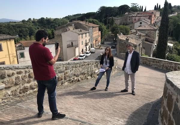 Il borgo di Celleno lancia tour virtuali in lingua inglese per i suoi visitatori stranieri