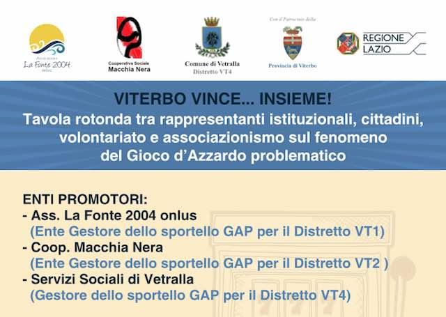 """""""Lazio in gioco"""", l'Istituto """"Leonardo da Vinci"""" per il contrasto alla dipendenza da gioco d'azzardo"""