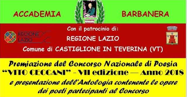 """Premio di Poesia """"Vito Ceccani"""", al Muvis recital di presentazione dell'antologia"""