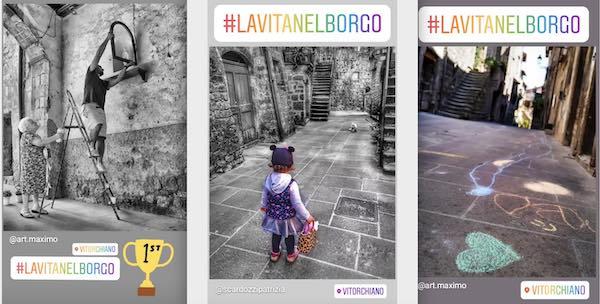 """I vincitori dell'Instagram Photo Contest """"La Vita nel Borgo 2020"""""""